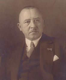 A photograph of Hans Pfundtner (1881-1945), taken at some point before 1935
